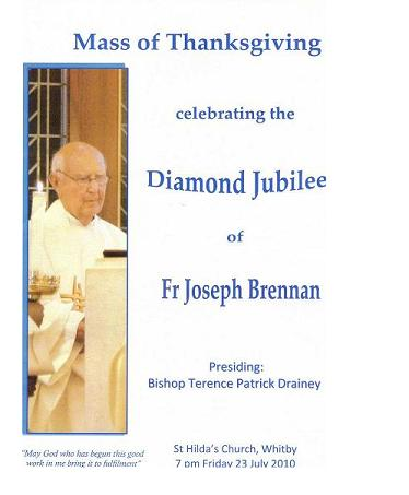 Brochure Cover for the Thanksgiving Celebration