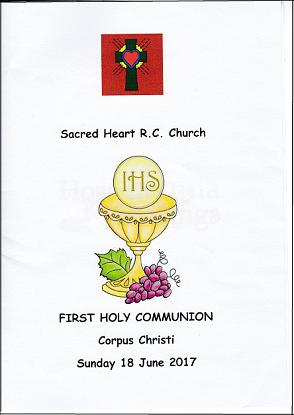 First Holy Communion Booklet