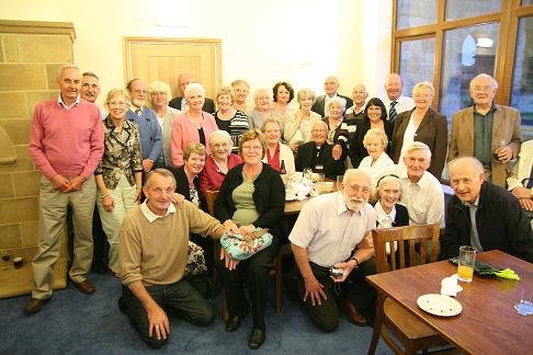 The Northallerton Parishioners Group photograph with Father Joe